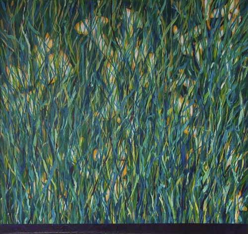 Gewächs (Végétations) 1999/2000 - acrylique - 90x96