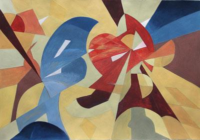 Isabelle von Rotz, Acrylique, 42x60