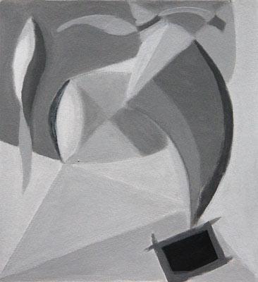 Iolanda Cassar, Acrylique, 24x22