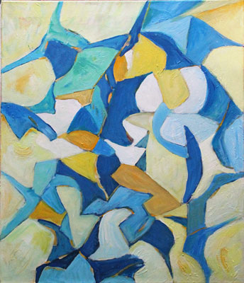 Gilbert Künzi, Acrylique 70x60