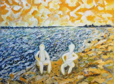 Gilbert Künzi, Acrylique 60x80