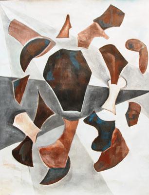 Barbara Puyo, Acrylique, 50x65