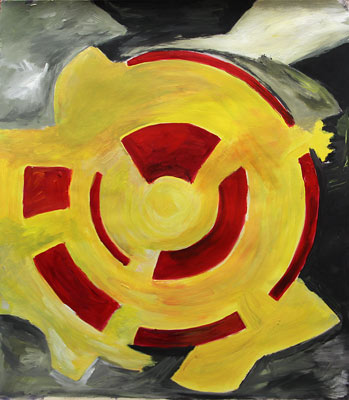 Isabelle Viot-Coster, Acrylique, 60x52