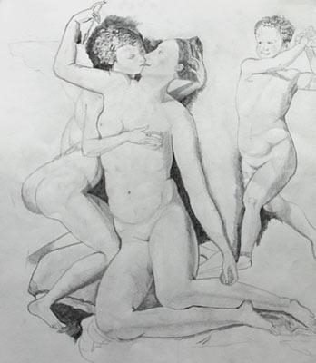 Rutschi Andrès, Dessin, 54x46