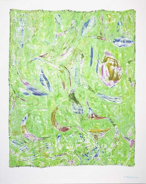 Tigresses-sirènes, 2006 Huile, 73x92cm