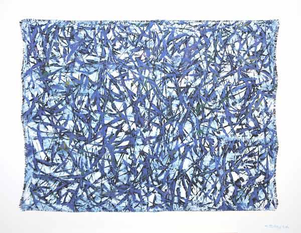 Tigresses aquatiques, 2006 Huile, 92x73cm