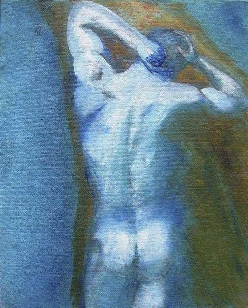 Roger Dubois, Nu, 30x24cm