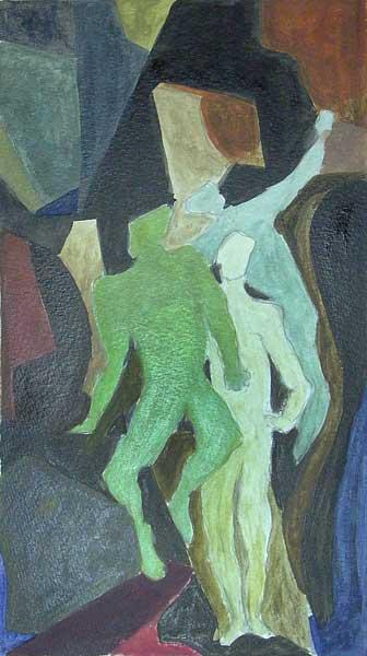 Philippe Curchod, s.t., ~28x21cm