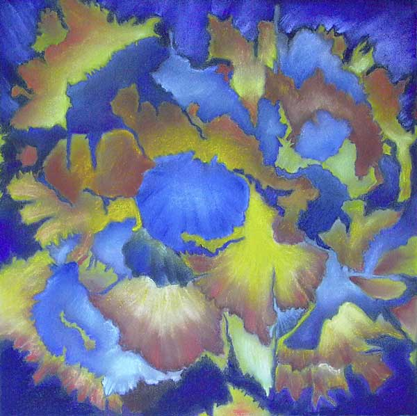 Robin Borzillo, Structure rythmique, 36x36cm
