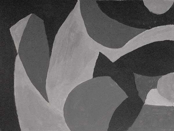 Eveline Haenni, Rythmes structureaux (climat), 18x23cm