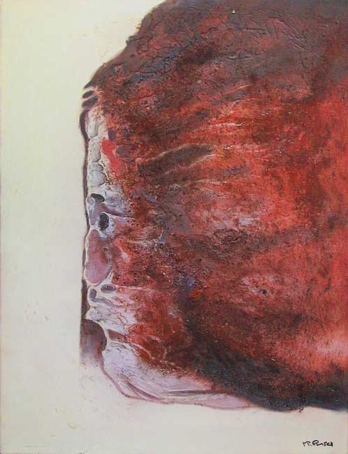 Visage falaise (1990) 50 x 65