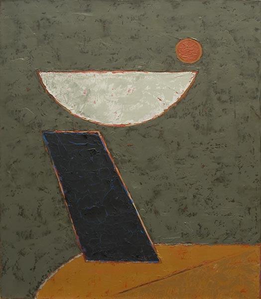 no 71 de la 9ème série de la métamorphose 65 x 54 cm, acrylique sur toile, Paris 1991