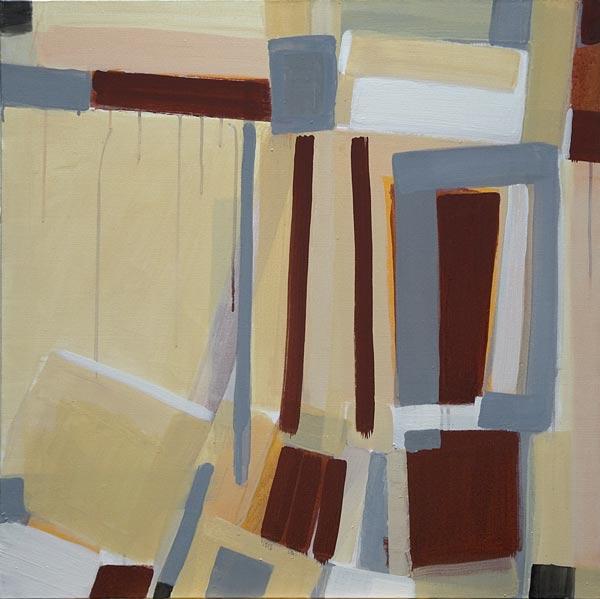 Toile, 2006 Pigments et liant acrylique, 80x80cm