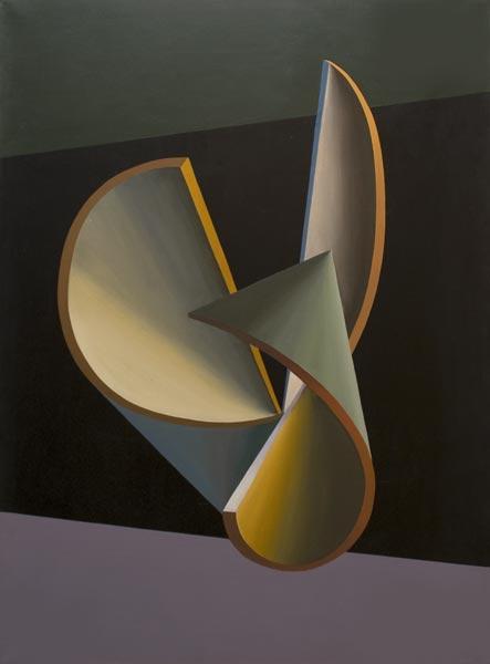 no 27 de la 8ème série de la métamorphose 100 x 73 cm, acrylique sur toile, Paris 1984
