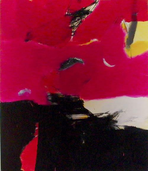Sans titre - 2000 acrylique sur toile 120 x 100