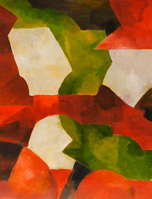 Annie Camerlynck, Acrylique, 28x36