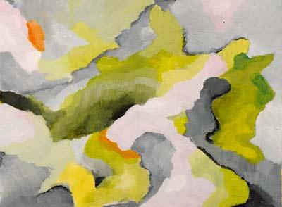 Annie Camerlynck, Acrylique, 40x30