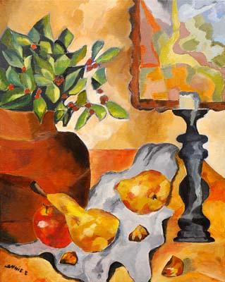 Annie Camerlynck, Acrylique, 40x50