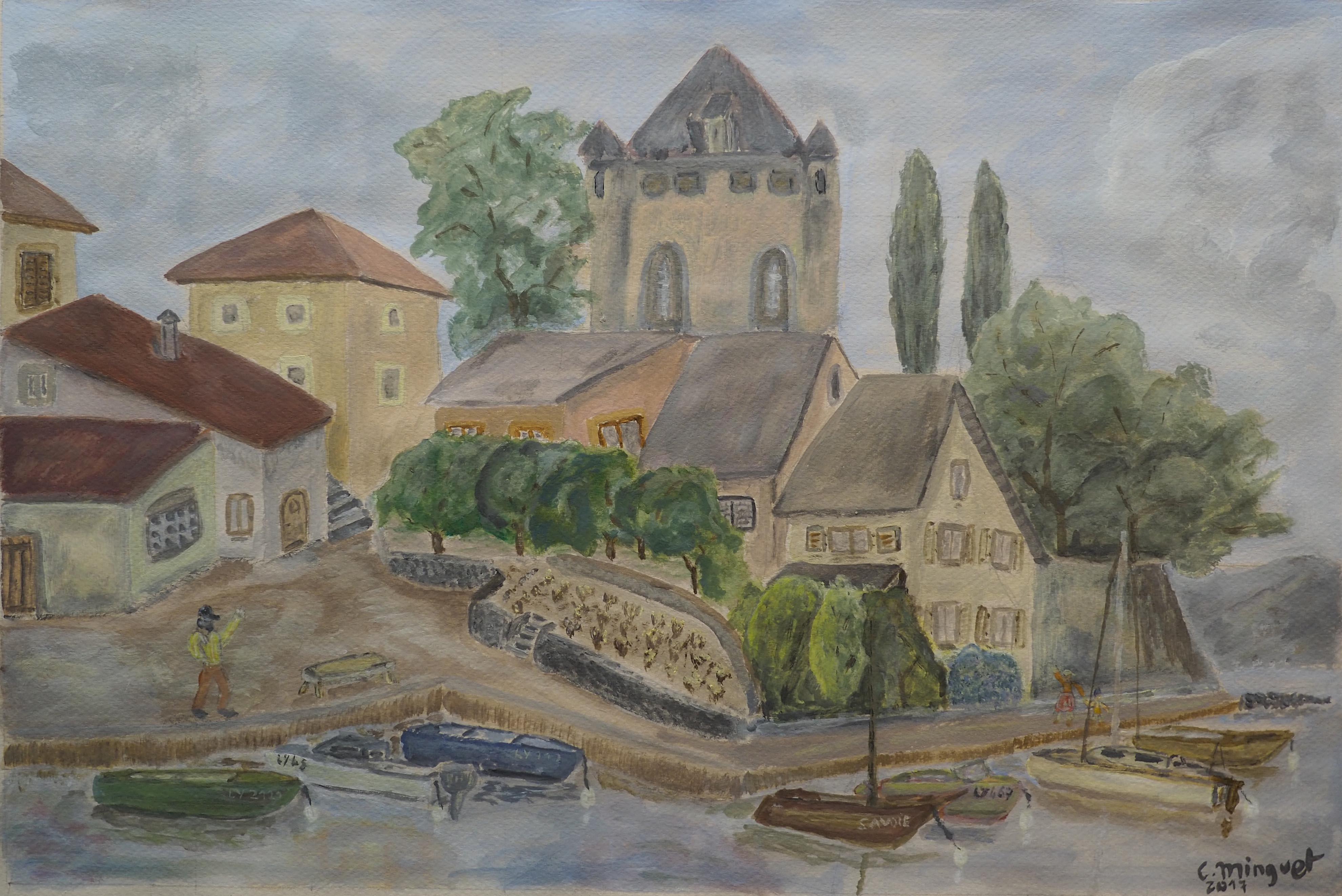 Christian Minguet, 30x45