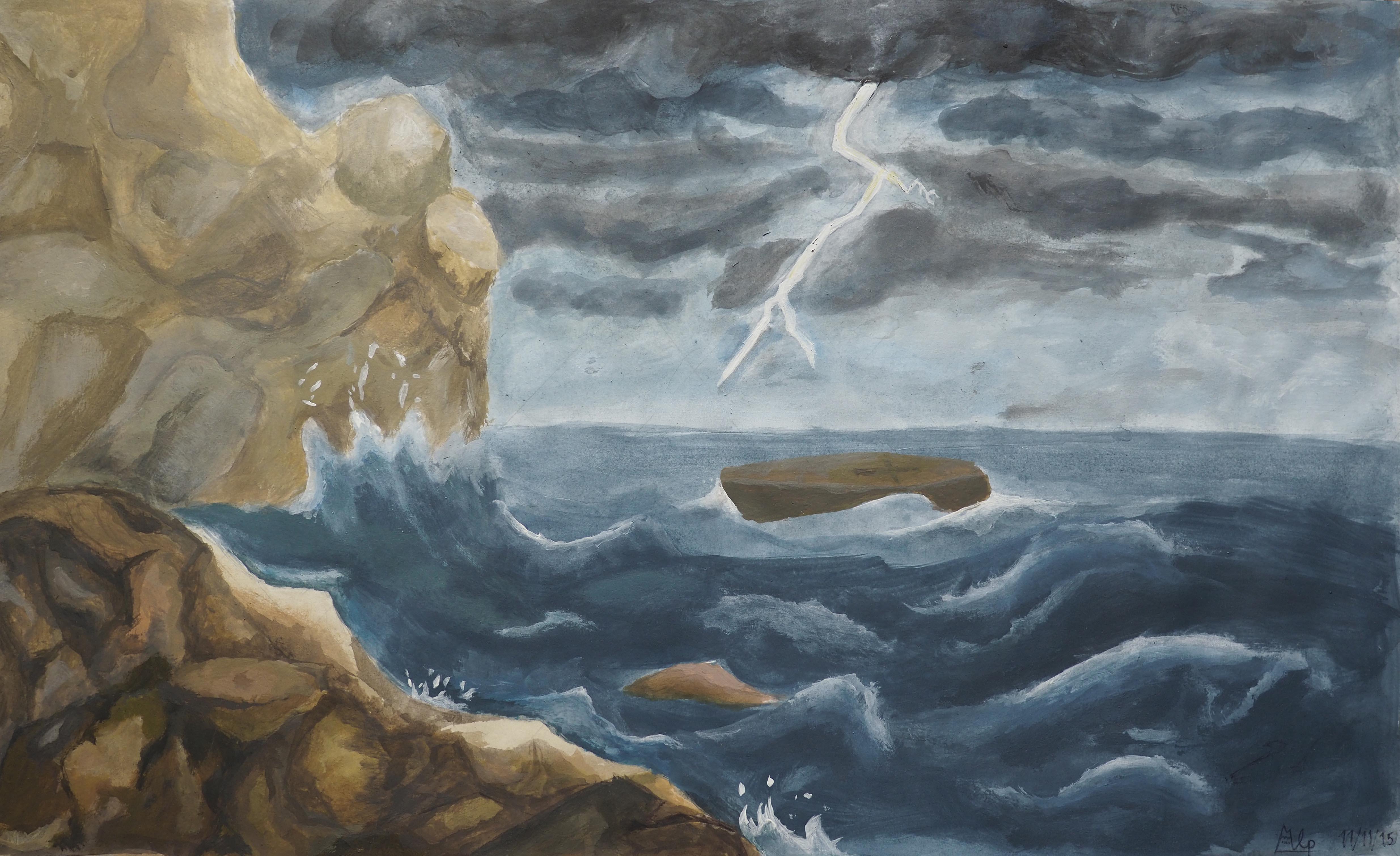 Alp Kurdoglu, 31x50