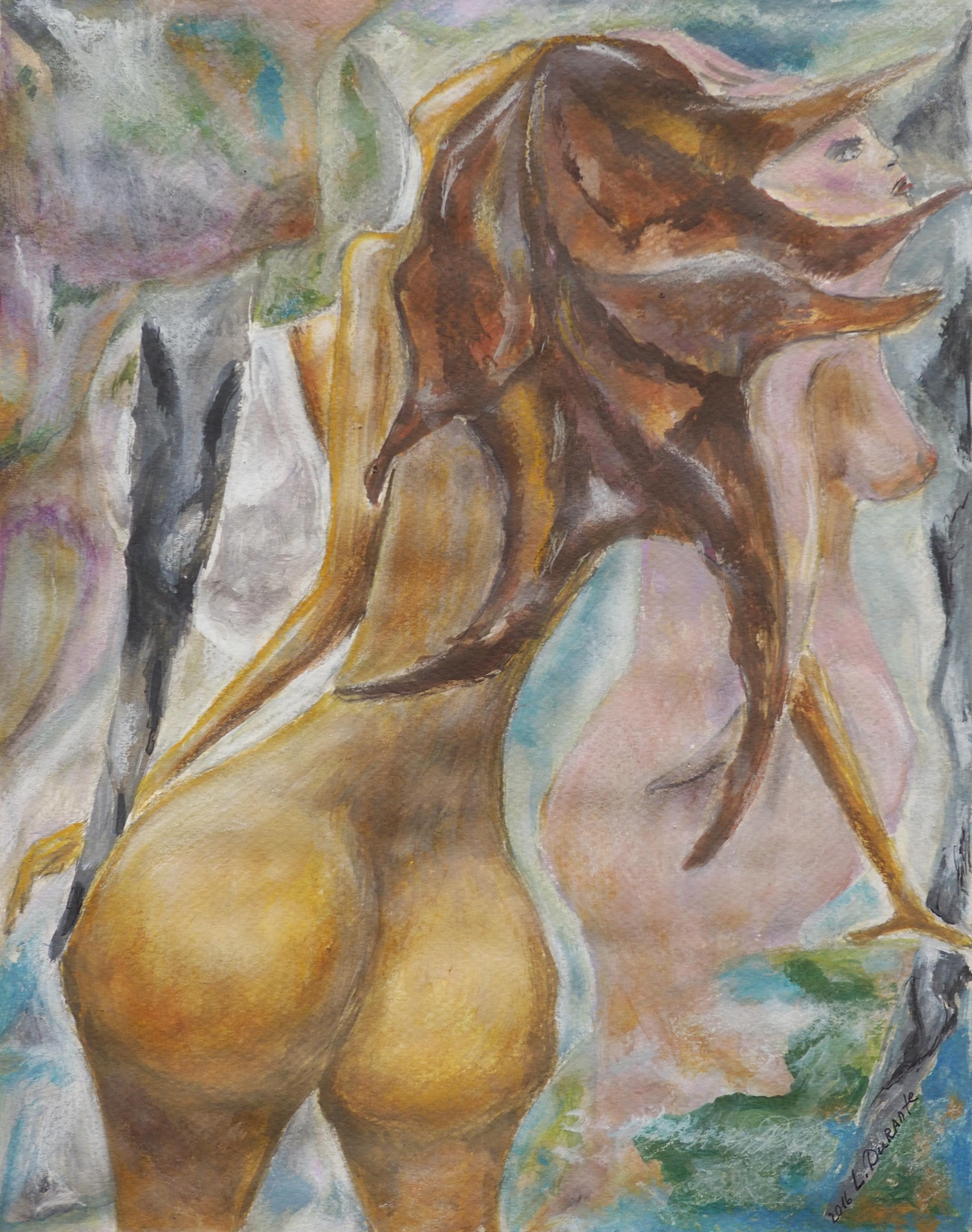 Lyudmila Durante, acrylique, 30x24