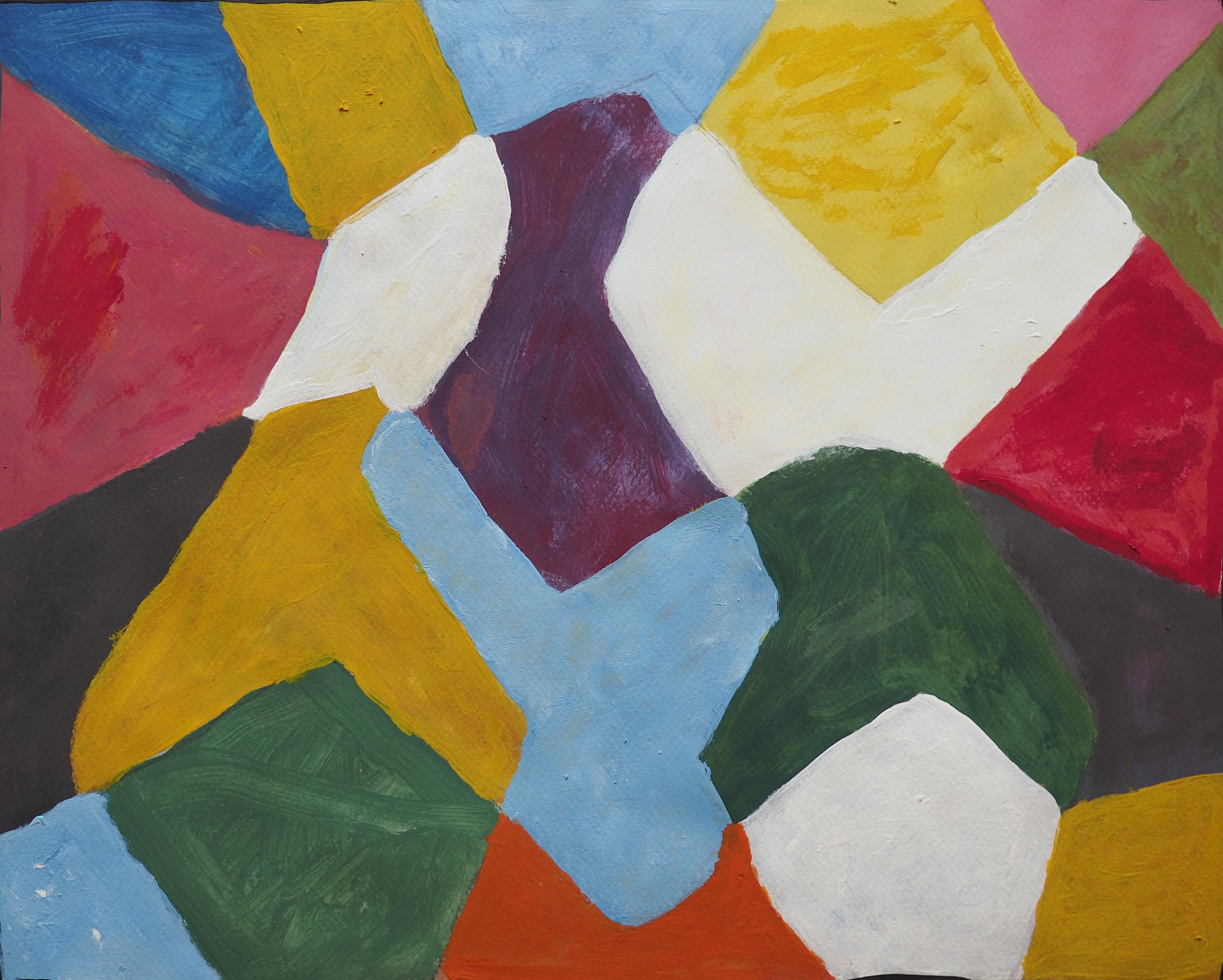 Soua Lama, acrylique, 31x39