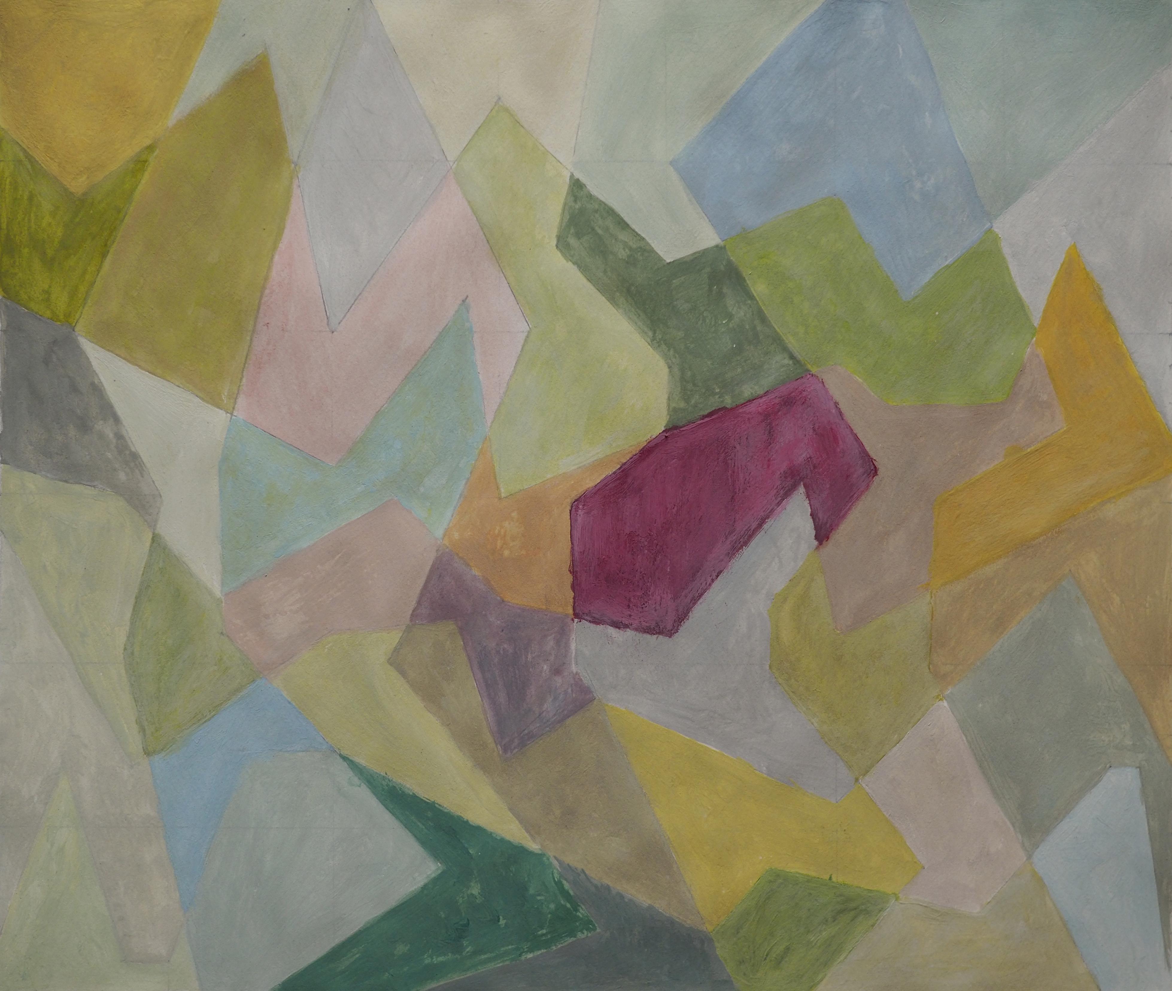 Lyudmila Durante, acrylique, 30x35