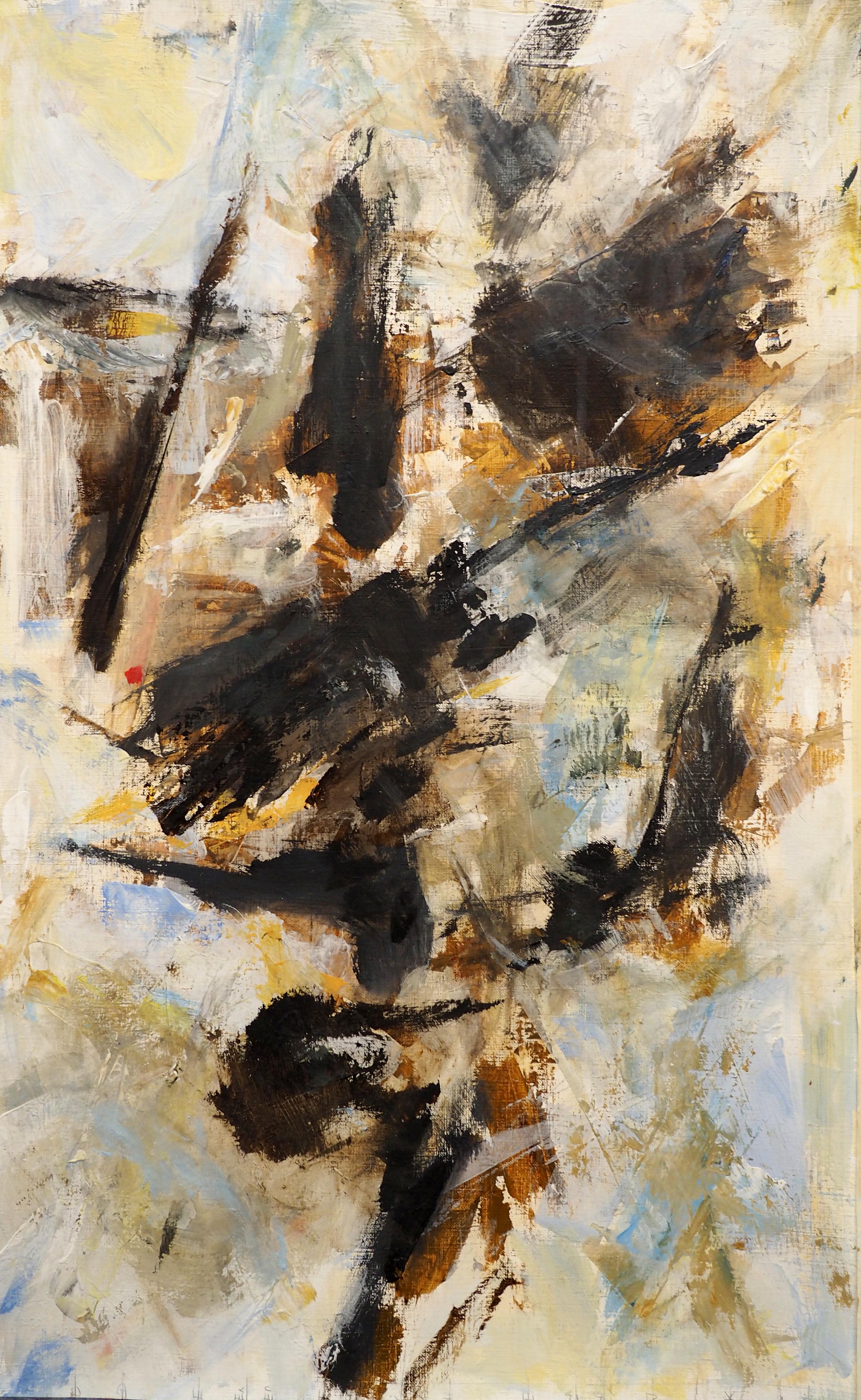 Marc Brunn, acrylique, 64x38
