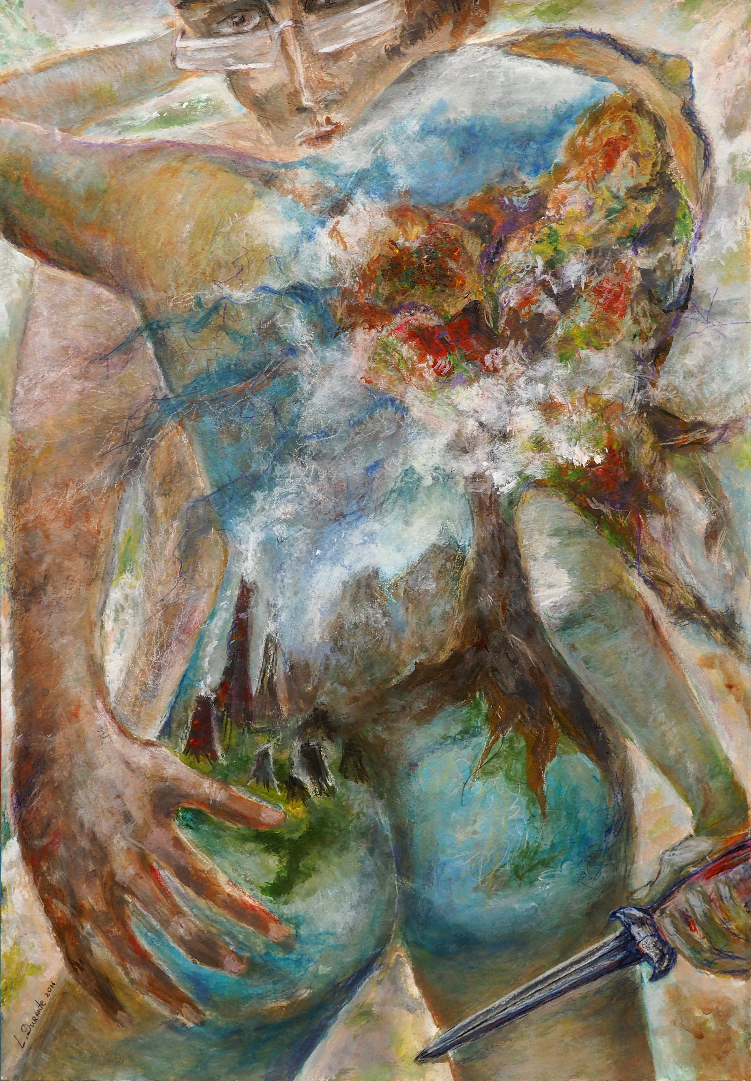 Lyudmilla Durante, acrylique, 54x37