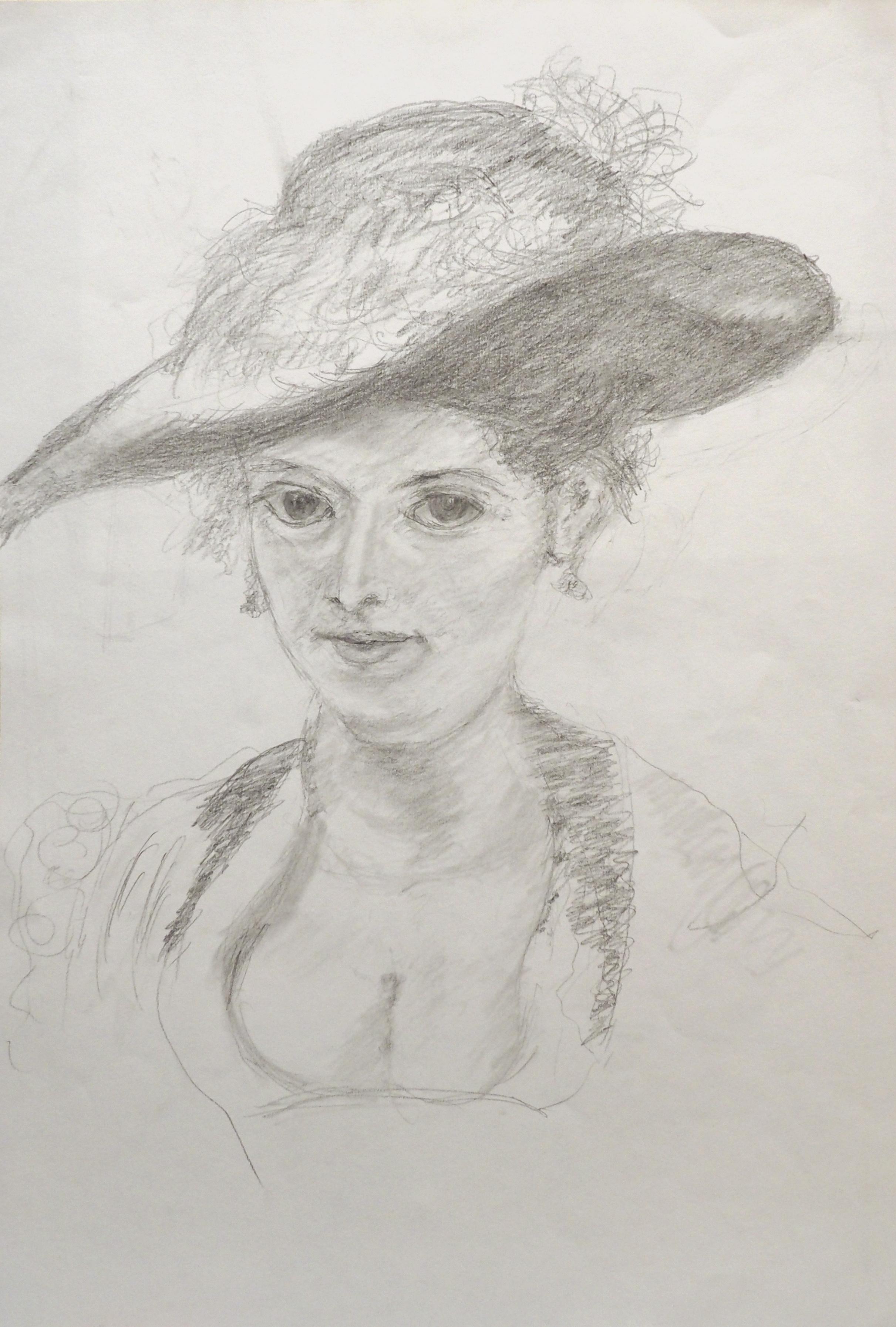 Pierre Favre, crayon, 50x34