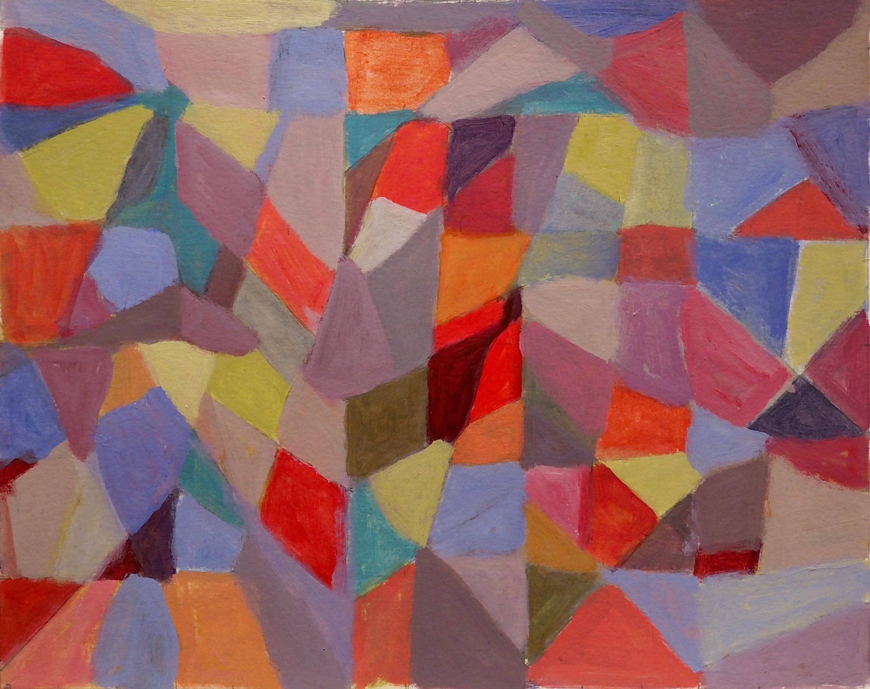 Michèle Martin, acrylique, 24x30