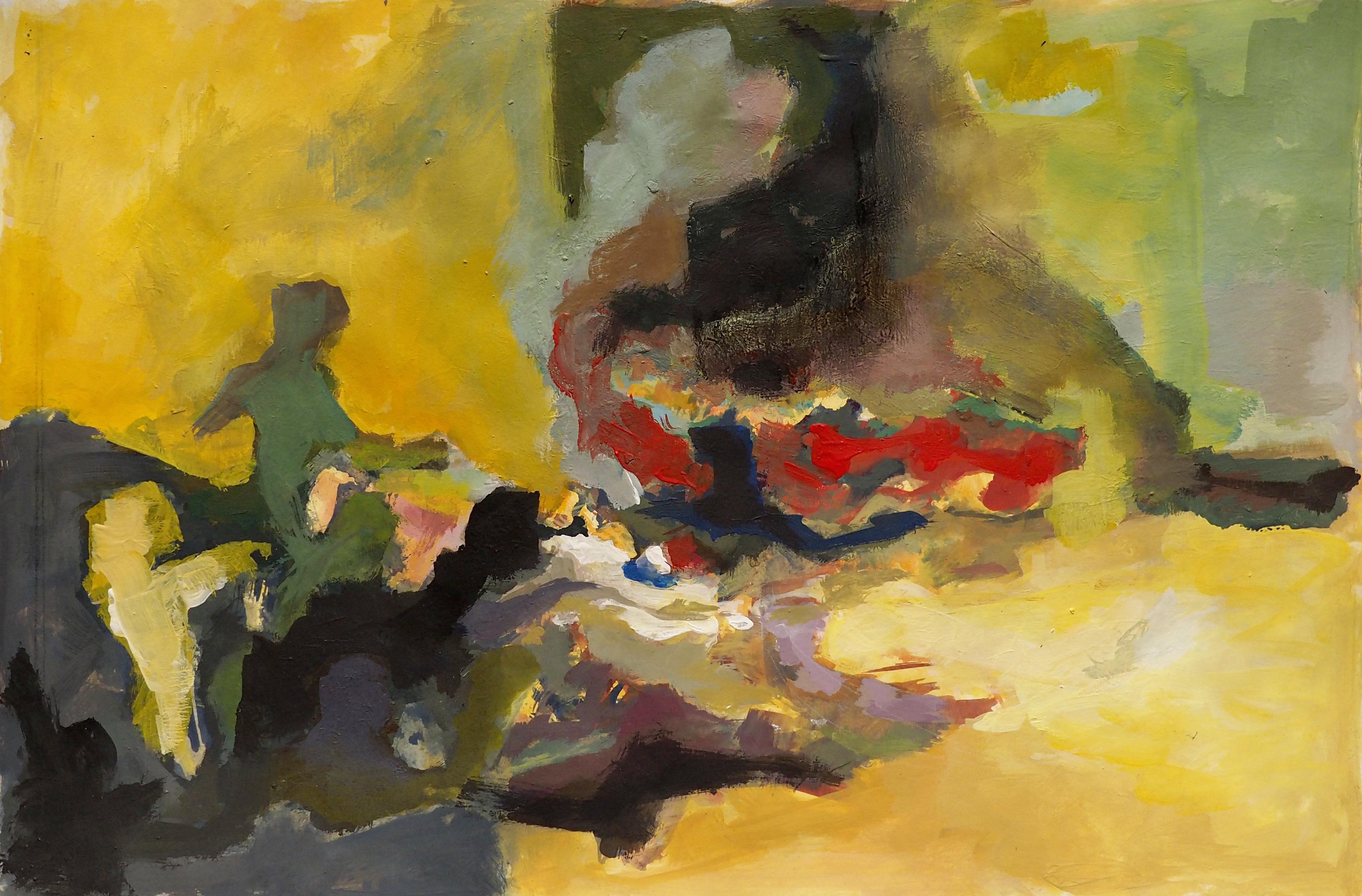 Marie-Pierre Mutzenberg, acrylique, 23x35