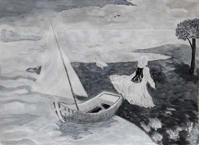 Brigitte Manz, Acrylique, 48x36