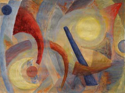 Claire Zutter, Acrylique, 40x30