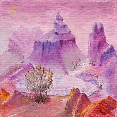 Daniel Gayraud, Acylique, 20x20