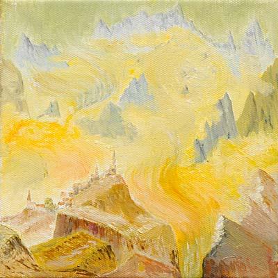 Daniel Gayraud, Acrylique, 20x20