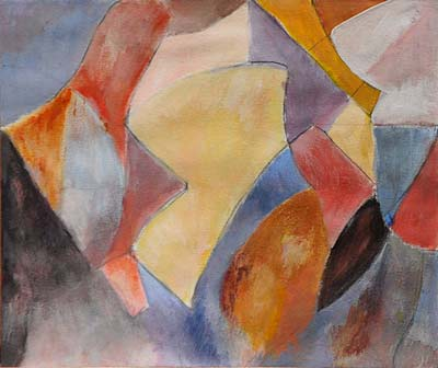 Eliane Spichiger, Acrylique, 21x17
