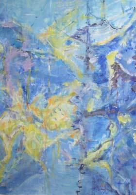 Gilbert Künzi, Acrylique