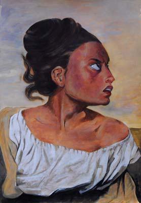 Isabelle Von Rotz, Acrylique, 36x53