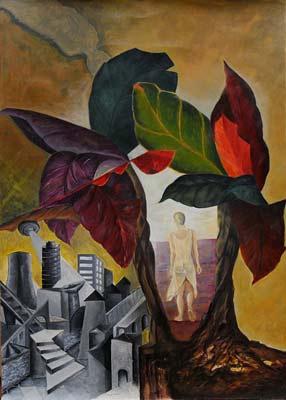 Isabelle Von Rotz, Acrylique, 50x70