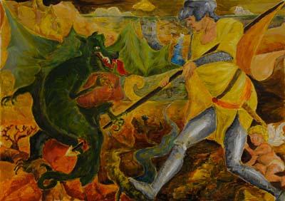 Mailah Le Guennec, Acrylique, 55x40