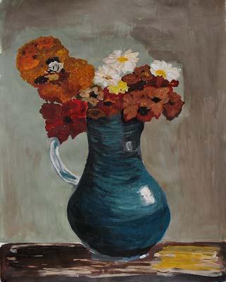 Marianne Ritschard, Acrylique, 48x60