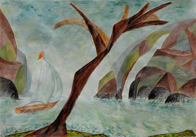 Rita Kirkby, Acrylique, 40x28