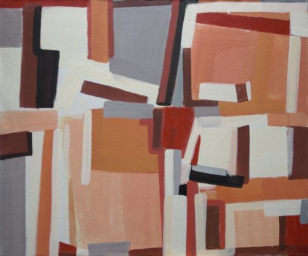 Toile, 2007 Pigments et liant acrylique, 114x95cm