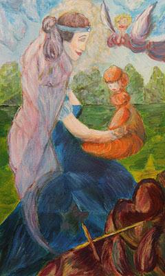 Valérie Drompt, Acrylique, 34x21
