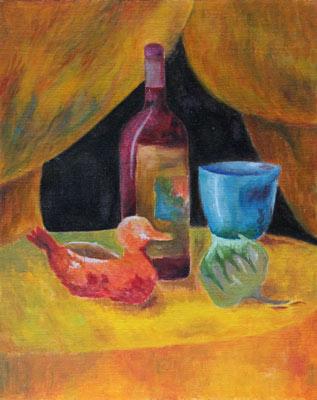 Cécilia de Prée, Acrylique, 30x24