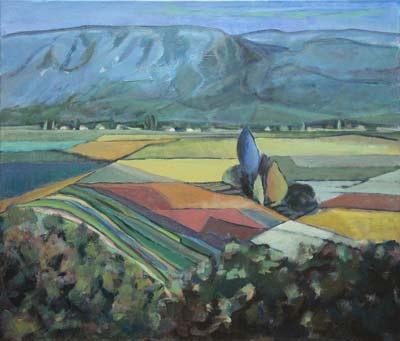 Marie-Pierre Mutzenberg, Acrylique, 60x70