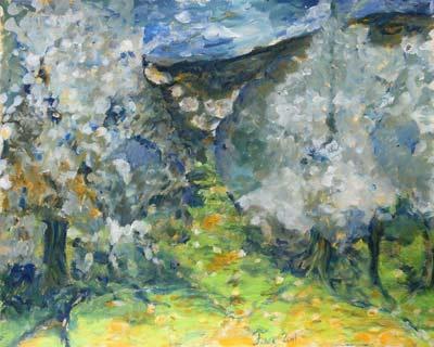 Françoise Vrins, Acrylique, 50x70