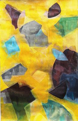 Barbara Puyo, Acrylique, 65x50