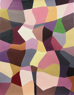 Sonja Voordijk, Acrylique, 40x24